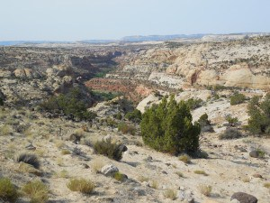 Grand Staircase-Escalante National Monument from Route 12