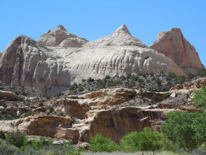 Navajo Dome - Capitol Reef NP