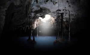 Xenotes blue cave 1