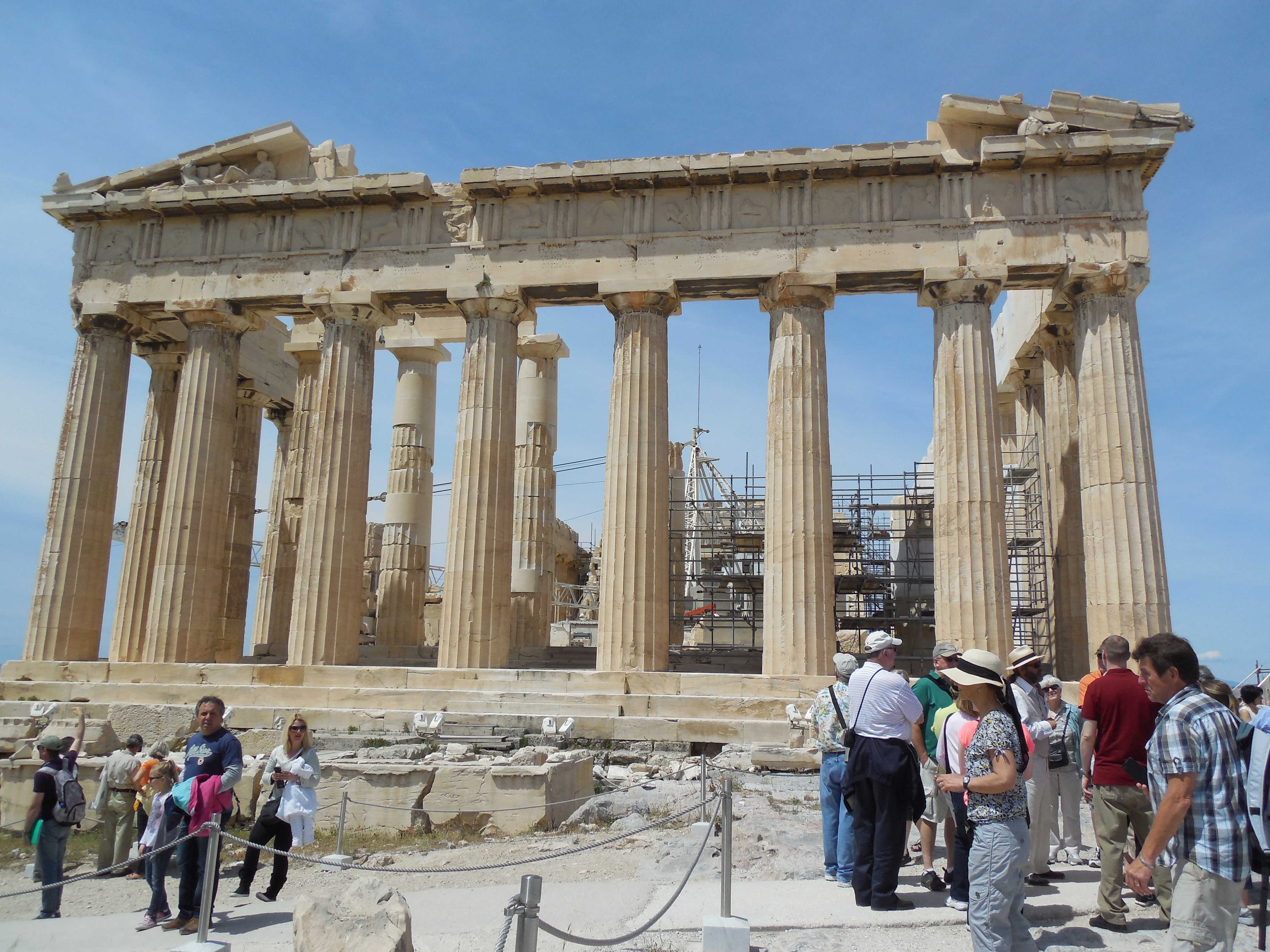 Touring Greece and its