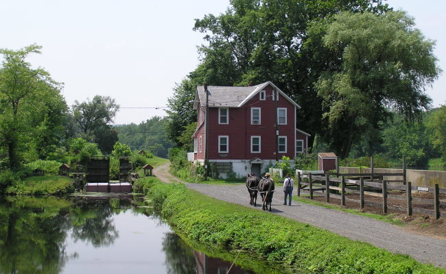 In Case You're Ever Navigating on the Lehigh Canal!