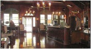 Interior Bar at the Rod & Gun Club