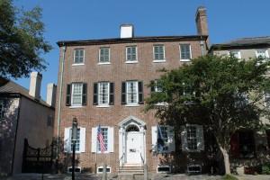 Heyward-Washington House from the street.