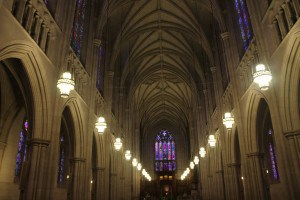 Interior at the Duke Chapel