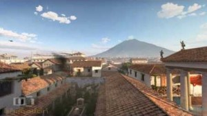 Pompeii before the eruption of Vesuvius