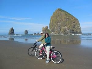 Biking Cannon Beach