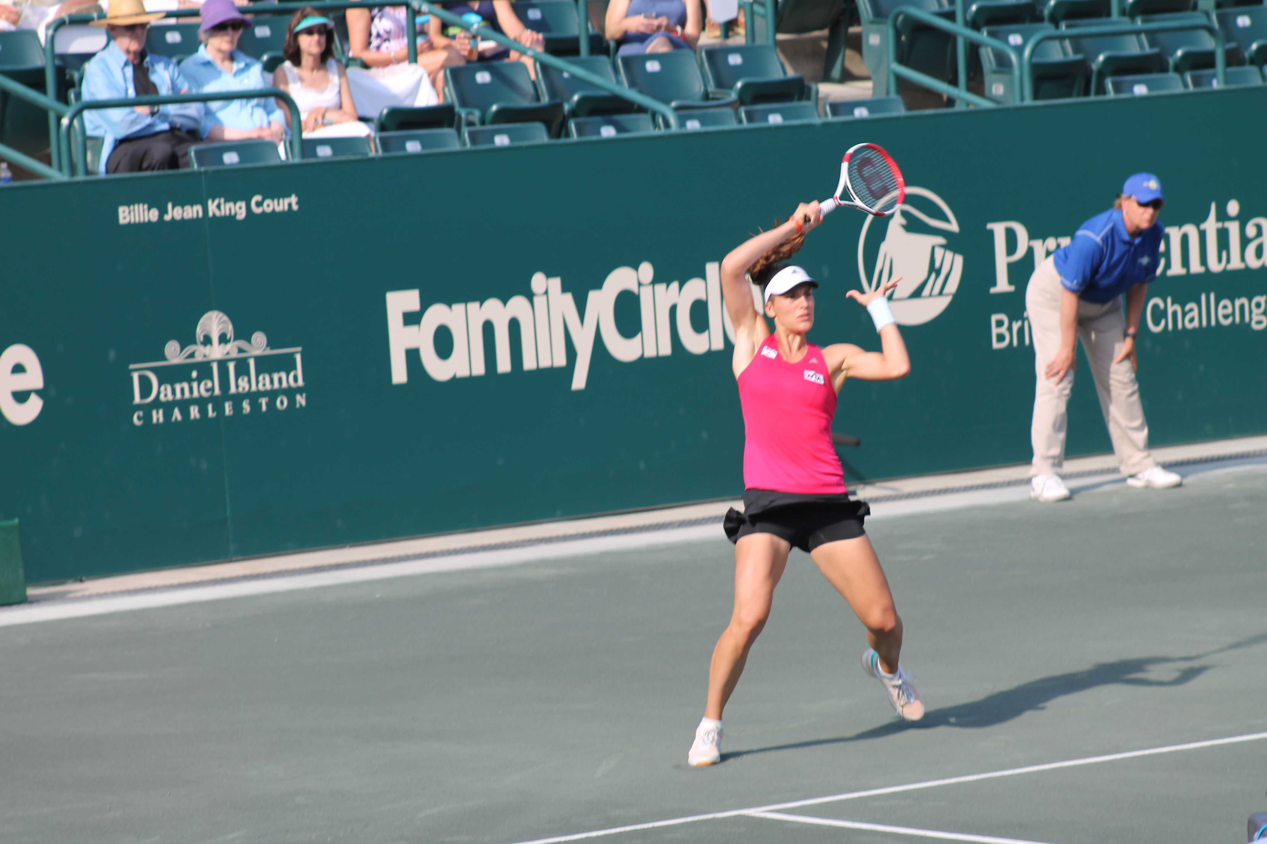 Tennis is in the air !  The 2015 Family Circle Cup: Charleston, S.C.