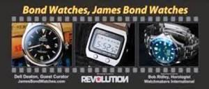 """""""Watches, James Bond Watches"""""""