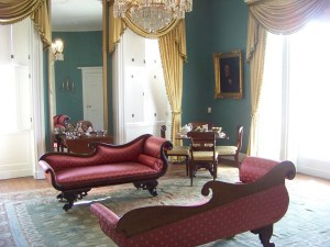 Interior period furnishings in Robert Mills House