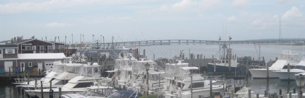 Shinnecock Bay from Oakland's Restaurant & Marina