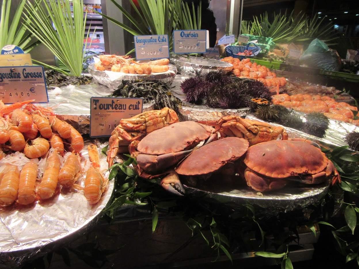 Street markets Paris