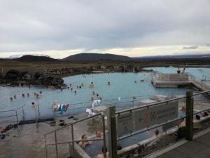 Natural bath at Myvatn