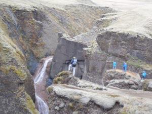 The Fjaorargljufur Canyon