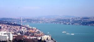 Bosphorus Strait Istandbul