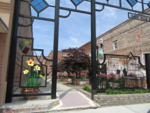 """Pocket Park"" Downtown Florence SC."