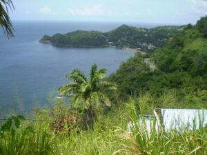 Views from hills Trinidad